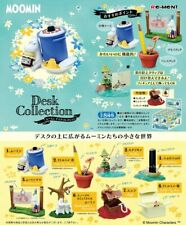 Japan Re-ment Miniature MOOMIN Desk Collection Full set of 8