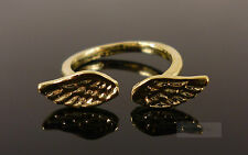Gold Angel Wings Costume Jewellery Ring