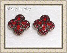 Copper Flowers & Plants Fashion Earrings