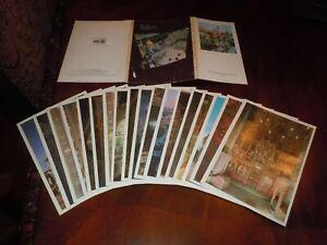18 Postcards of Museums Of Moscow Kremlin Музеи Московского Кремля