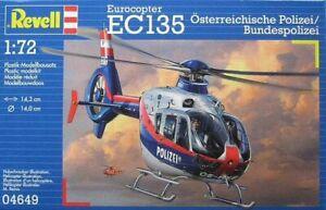 Revell 04649 Eurocopter EC-135 Osterreichische Polizei / Bundespolizei 1/72 kit