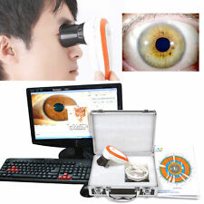 Best Design 5.0 MP USB Iriscope Iris Analyzer Iridology camera + Pro Software CE