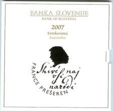 SLOVENIE BU SET 2007 IN OFFICIELE BLISTER