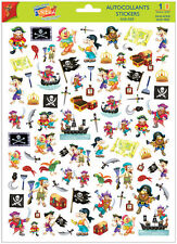 A4 Sticker Sheet Pirates for Scrapbooking & Cardmaking Over 60 Images
