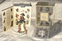 VINTAGE 1996 WORLD OF BEATRIX POTTER BENJAMIN BUNNY FIGURINE+BOX-FREDERICK WARNE