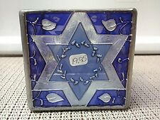 Star of David glass candle holder by Joan Baker Designs in 2003