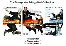 TRANSPORTER TRILOGY DVD TRIPLE PACK SET PART 1 2 3 Jason Statham Box New UK