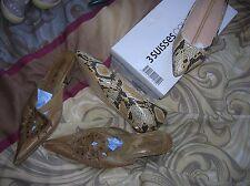 lot chaussures 37 dt 1 NEUVE  int CUIR effet python ballerines  femme fille