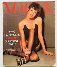 Vogue Italia 511 marzo 1993 Linda Evangelista Monica Bellucci Claudia Cardinale