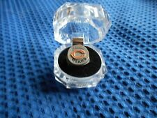 CHICAGO BEARS HAND PAINTED  PEWTER RING  WITH TEAM LOGO SIZE 10 NEW NEVER WORN