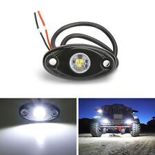 White Brand 9W High Power LED Rock Light Kit For Jeep Truck SUV Off-Road Boat D7
