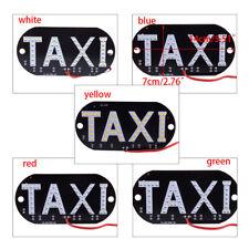 Auto 45 LED Cab Taxi Taxischild Dachzeichen Licht Taxileuchte Lampe Stecker