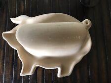 Haeger NaturalStone Bacon Cooker, Pig Stoneware
