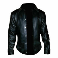 Men's Real Sheep Leather Very Hot and Soft Full Sleeve Shirt BLUF Men Shirt