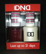 DND Daisy Soak Off Gel Polish Amethyst Sparkles 698 LED/UV 15ml gel duo NEW