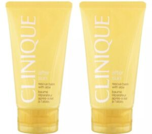 Clinique After Sun Rescue Balm with Aloe - Lot of 2 - TOTAL = 5 oz/250 ml  New