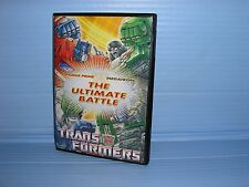 Transformers The Ultimate Battle Optimus Prime Megatron DVD FREE Postage