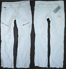 G-Star Raw Womens Pants W 26 L32 Jogging Fire Cotton Trousers Elastic Waistband