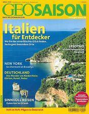 GEO Saison Reisemagazin, Heft März 03/2008: Italien für Entdecker ++ wie neu ++