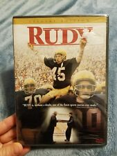 Rudy (DVD, 2000, Special Edition) BRAND NEW SEALED