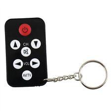 Mini Universal Infrared TV Set Remote Control Keychain Key Ring 7 Keys CA