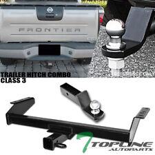 Topline For 2000-2004 Nissan Frontier Class 3 Trailer Hitch Receiver+Ball Mount