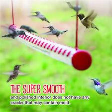 Hummingbird Feeder Bird Feeder With Bright Red Transparent Tube For OutdoorsFCA