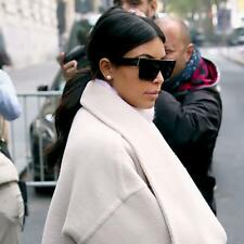 $550 New POLARIZED CELINE ZZ-Top Black Kim Kardashian Sunglasses CL 41756 807 3H