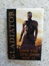Gladiator Russell Crowe Movie Promo Pin - 2000