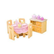 # Le Toy Van me059 daisylane de cuisine-Set Cuisine 1:12 pour maison de poupée Bois NOUVEAU