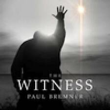 PAUL BREMNER ( IZZ )  -The Witness sealed digipack 2016 USA PROGSTER