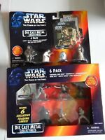 Star Wars die cast miniatures Power of the Force Lot 1995