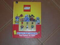 LEGO  LIVRE PLUS 3 FIGURINE A MONTER SOIT MÊME