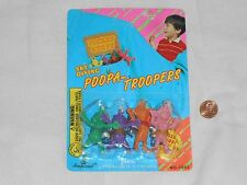 NEW Sky Diving Poopa Troopers w/ Parachutes 1992 Imperial Toy Corp SEALED 4 Toys