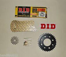 DID Gold Heavy Duty 428 Drive Chain & JT Sprocket Upgrade Kit Honda MSX125 Grom