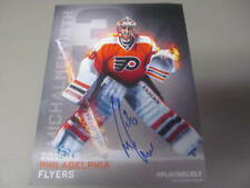 Michal Neuvirth Philadelphia Flyers Signed 2015/16 Lineup Card COA