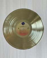 Madonna The Immaculate Collection 1990 Gold Vinyl Record First Press Label
