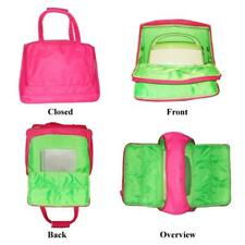 Die Cutting Machine Holder Bag Tote Carrier Pink Folds Zip Closure Side Pocket