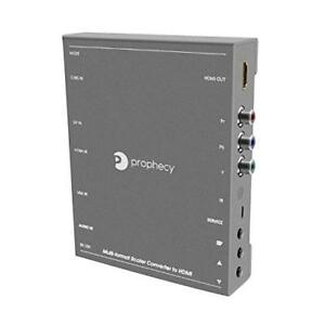 gofanco Multi Video Format to HDMI Scaler Converter - Upscale (PRO-Scaler2HD)