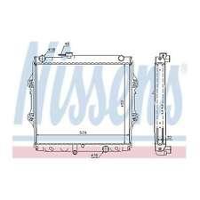 Fits Toyota Hilux N 2.5 D-4D 4x4 Genuine Nissens Engine Cooling Radiator