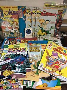 Huge lot of 1990's, 2000's comic books Barbie,jetsons, flinstones harvey classic