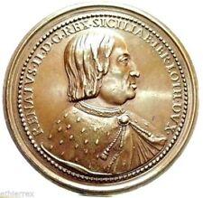 NAPOLI E SICILIA (Renato II D'Angio'-Lorena) Medaglia