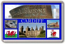 FRIDGE MAGNET - CARDIFF - Large - Wales TOURIST