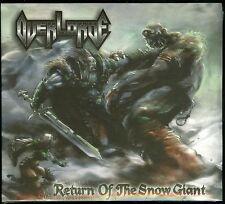Overlorde Return Of The Snow Giant CD new digipack