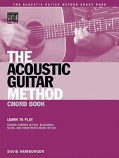 The Acoustic Guitar Method Chord Book Bo Books