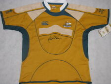 JOHN EALES Hand Signed Australia Wallabies Jersey + Photo Proof