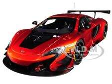 Mclaren 650S Gt3 Volcano Orange W/Black Accents 1/18 Model Car By Autoart 81642