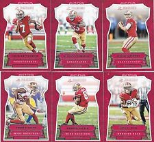 2016 SAN FRANCISCO 49ERS 40 Card Lot w/ PANINI Team Set 29 TRAINING CAMP Players