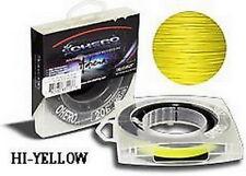 Ohero Adrena-Line Braided Fishing Line 150 Yard Spool HV Yellow 25 lb - NEW