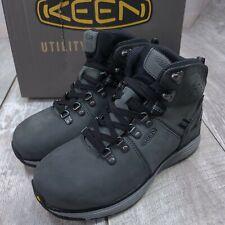 "Keen Utility Manchester 6"" Waterproof Boots Mens 7.5 D Gray CSA Aluminium Toe"